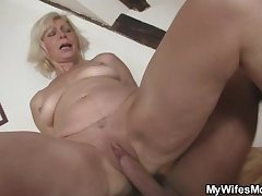 She finds them fucking and gets all steamed up