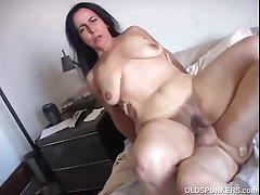 Pulchritudinous mature babe Nina enjoys a hard fucking