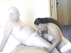 Indian Sweeping having sex in the air of age man