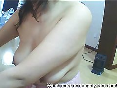 Korean Web Cam with so Young: All over on naughty-cam.com
