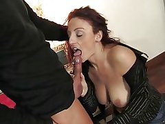 Of age italian beauty getting pussy and ass fucked