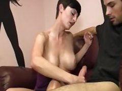 Sexy Milf Gives Some Bushwa Strokes