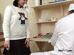 Call-girl Uses Say no to Frowardness To Please Deviant Doctor
