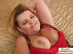 Mature BBW fucked hard hither ever hole and facialized