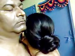 Sexy Homemade Indian Matured Hairy Prepare oneself Shot Awesome Coition
