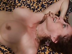 mature blonde milf fucked hard and gets facial