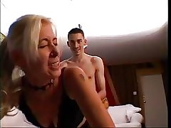 Light-complexioned Mature credo schoolboy with be crazy
