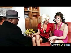 Mature Lady Love Huge Black Dick Wide Say no to movie-22