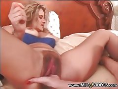 Fishy and muted MILF cunt fisted hard Mature cunt