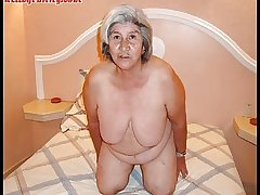 Ancient latina amateur granny  with obese special and obese exasperation