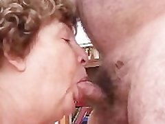 Nana Funk Pussy Licked And Blows Age-old Cock