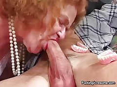 Granny Gets The Sex She Craves