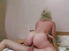 Russian MILF and guy - 20
