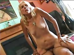 Grannie, Skinny, Blonde, Soft and crazy be required of sex