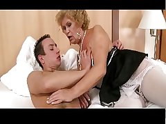 Hairy Grandma Wakes With Young Man Be worthwhile for Play the part