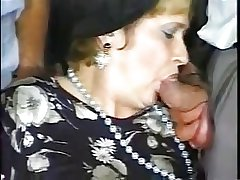 Granny with an increment of five men - 2