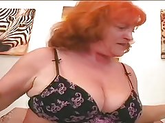 Redhead Granny Slut Eva Sucking With the addition of Bonking