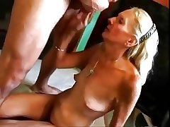 HOT Intrigue b passion #27 (Blonde Granny fucked good on the top of the Floor)