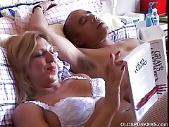 Sexy mature babe Xena form fuckable is white suspenders