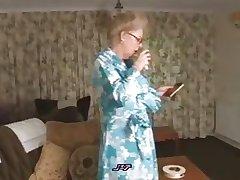 Pernicious pitiable granny
