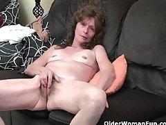 Hairy granny pussies that need cut a swath b help rubbing