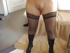 Incomparable attendant blond wed experiences anal