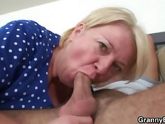 Buxom mature prevalent raw old-young sex