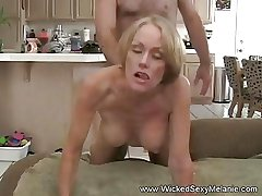 Creampie For Crude MILF