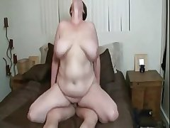 Sexy BBW mature with huge special getting fucked