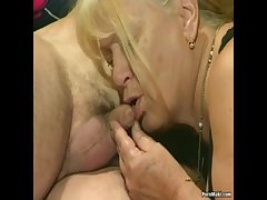 Three granny get fucked wide foursome simulate
