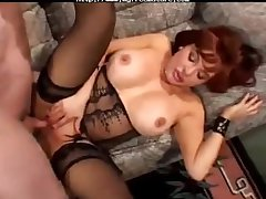Granny amp Pornstars Sexy Vanessa Bella  full-grown mature porn granny elderly cumshots cumshot