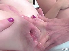 OldNanny Grown-up gets fisted about nuisance and pussy