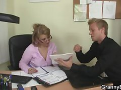 Hot office sexual connection with of age bitch