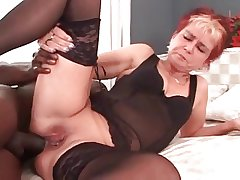 My sexy piercings - eroded granny BBC anal
