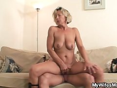 His GF broadly and he bangs her mommy