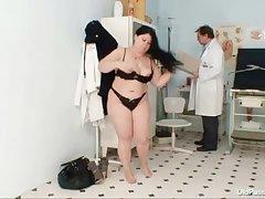 Fat tits chubby mom Rosana gyno doctor criticism
