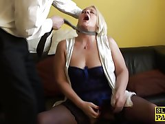 Assfucked uk gilf plowed firm and facialized