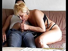 Crazy old mom gets fucked permanent taking big weasel words blowjob