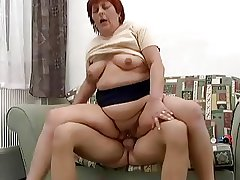 Chubby Eroded Redhead Anal Granny Fucked