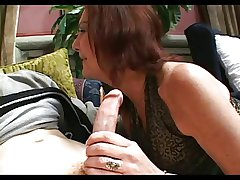 Hairy Pussed Granny Anatasia Fucks Young Varlet