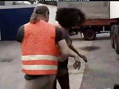 Ebony Hottie  Fucked Wits Trucker mature mature porn granny old cumshots cumshot