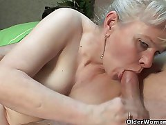 Hot grannies who opt younger men be expeditious for sexual relations