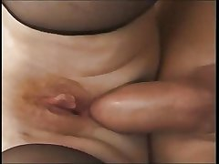 Granny progenitrix fucked overwrought young guy anal