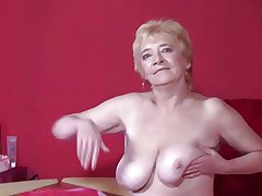 Granny almost Stockings Strips and Spreads