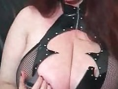 JOI Masterbation Instruction from a Herculean Titted Granny