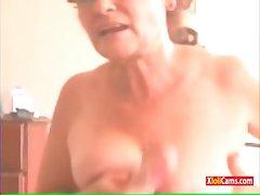 Brazilian Granny In Webcam