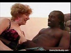 Indecorous Granny Goes Dusky