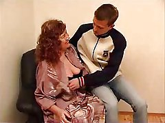 wonderful granny July cock up lacking a young varlet
