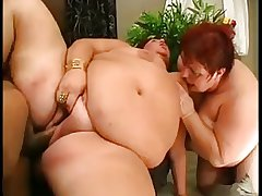 Two Mature BBWs in a Trilogy