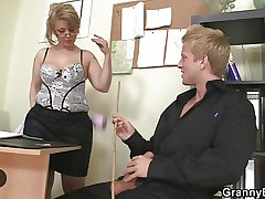 Office lady fucks her wage-earner